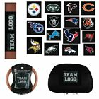 Officially Licensed NFL Headrest and Wheel Covers 616286-J $29.9 USD on eBay