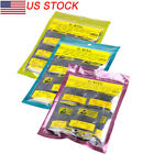 950pcs LOT 0.5-0.7mm O-Ring Rubber Seal Washer Watch Case Back Gasket Repair Set image