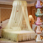 Princess Lace Mosquito Net Bed Canopy Insect Protect Foldable Twin Full Queen US image