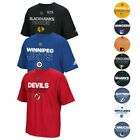 NHL Adidas Men's Authentic Climalite Performance Short Sleeve T-Shirt Collection $24.0 USD on eBay