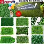 1-30x Artificial Plant Wall Panels Fake Vertical Garden Green Foliage Ivy Fence