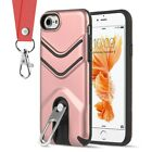 FOR IPHONE 8 / 7 THE VICTORY HYBRID CASE WITH METAL CAP STAND AND LANYARD $9.03 USD on eBay