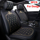 Universal 9PCS Leather Car Seat Protection Cover Fit for Dodge Charger Durango $149.99 USD on eBay