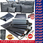Grey Mailing Bags Strong Post Mail Postage Poly Bag Postal Self Seal Plastic UK