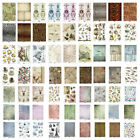Rice Paper for Decoupage Scrapbook Craft A4 sheet pictoral pattern animal
