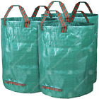 GardenersDream 3 x Round Garden Waste Bags - Heavy Duty Reinforced Refuse Sacks