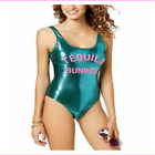 California Wave Women Graphic Cheeky One-Piece Fully Lined Built in Bra Swimsui $11.32 USD on eBay