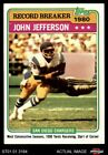 1981 Topps #332 John Jefferson - Record Breaker Chargers NM/MT $1.8 USD on eBay