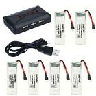 ENGPOW 3.7V 500mAh Lipo Battery With Multi-battery Charger for RC Drone Model