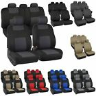 Auto Seat Covers for Car Truck SUV Van - Universal Protectors Polyester 8 Colors $8.99 USD on eBay
