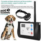 Wireless Dog Shock Training Collar Rechargeable LCD Remote Control Waterproof