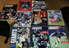 New York Giants Official NFL Team Yearbooks 1986-2000 YOUR CHOICE Mint Condition