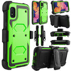 For Samsung Galaxy A10e A20 Case Shockproof Holster Cover With Clip Kickstand