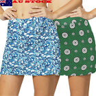 Women Fashion Active Skorts Performance Skirt Running Tennis Golf Workout AU