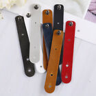 8pcs/set leather earphone winder cable cord organizer holder for phone new.