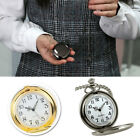 Vintage Men Steampunk Smooth Surface Pendant Chain Classic Pocket Watch ADF image
