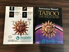 Taboo Sixth Sense - Nintendo NES - Manual Only picture