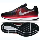 Nike Air Zoom Pegasus 34 880555-006 Black/Crimson/Silver Men's Running Shoes