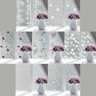 PVC Frosted Glass Window Privacy Self Adhesive Film Sticker Bedroom Bathroom US