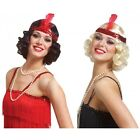 Curly Flapper Wig With Headband Costume Accessory Adult Halloween