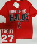 LOS ANGELES ANGELS RED AUTHENTIC HOME OF HALOS JERSEY SHIRT NEW MAJESTIC on Ebay