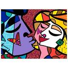 "Britto ""Honey"" Hand Signed Limited Edition Giclee on Canvas; COA"