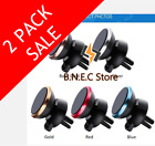360 Cell Phone Magnetic Car Mount Holder Air Vent Rotate Stand For Samsung Apple