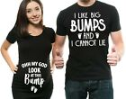 Pregnancy Tee Funny Couple T-shirts Maternity Photoshoot Ideas Baby Shower Gifts