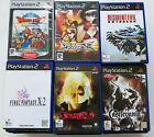 (Fully Tested) Sony PlayStation 2 PS2 Games / Demo, Bulk Lot, Please Choose on eBay