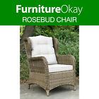 Rosebud Wicker Rattan Outdoor Lounge Chair Patio Garden Sofa Furniture