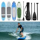 Inflatable SUP Stand Up Paddle Board w/ Adjustable Paddle Backpack Hump
