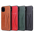 For Iphone 11 Pro Max 7 8 Plus Pu Leather Wallet Card Slot Stand Back Cover Case