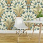 Peel-and-Stick Removable Wallpaper Art Deco Large Scale Floral Decor Flower