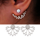 Womens Studs Stud Earrings 925 Sterling Silver Plated Round Small Drop Dangle UK