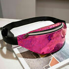 Women Sequins Travel Waist Pack Money Belt Unisex Wallet Glitter Bum Pouch Bags