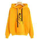 Men Women Sweatshirt Hoodie Pullover Hoody Cotton Plain Design Jumper Casual #mi