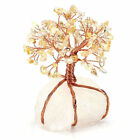 Natural Chakra Gem Tree Healing Stones Gemstone Wire Tree Chakra Crystal