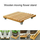 1/2PCS Movable Plant Pot Trolley Tray Square Universal Wheel Potted Chassis Base