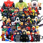 Lego Marvel Avengers Minifigures Iron Man Thanos Venom Super Heroes DC Blocks