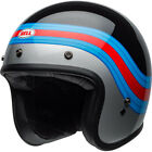 BELL Custom 500 Jet/Half Helmet Pulse Black/Blue/Red Cruiser Street Motorcycle