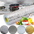 Stove Cupboard Oil-proof Aluminum Foil Wallpaper Kitchen Stickers Self-adhesive