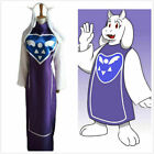 NEW game Undertale Goat Mother Toriel Cosplay Costume N3.1