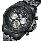 LEEEV Men's Automatic Mechanical Watch Luxury Business Watch Relogio Masculino image