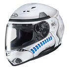 HJC CS-R3 MOTORCYCLE HELMET Star Wars Stormtrooper MC-10SF (Semi Flat White) $152.99 USD on eBay