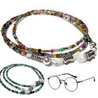 1PC Long Sunglasses Chain Eyeglass Holder Strap Beaded Lanyard Faux Pearl Women image