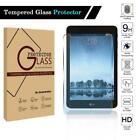 """For 7"""" 8"""" 8.3"""" LG G Pad Tablet - Tempered Glass Screen Protector Cover Film"""