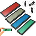 4 Colors Mini LED Digital Programmable Scrolling Name Message Tag Badge Sign