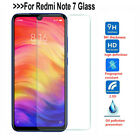 For Xiaomi Redmi Note 7 Tempered Glass Screen Protector Protection Clear Sl