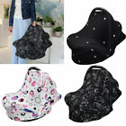 4-in-1 Multi-use Baby Stretchy Nursing Cover Seat Canopy Infinity Scarf for Baby