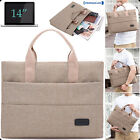 14 Inches Notebook Hand Case Sleeve Bag For Laptop MacBook DELL Sony Acer Asus